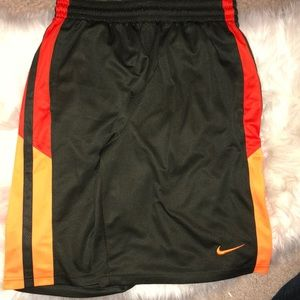 Dri-Fit Gray-Red and Orange sides, Nike Shorts